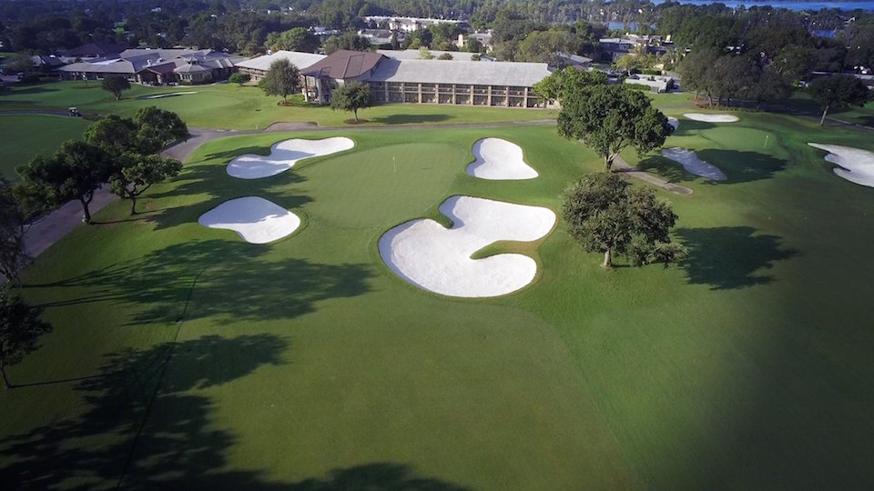 Above: Arnold Palmer's Bay Hill in Florida
