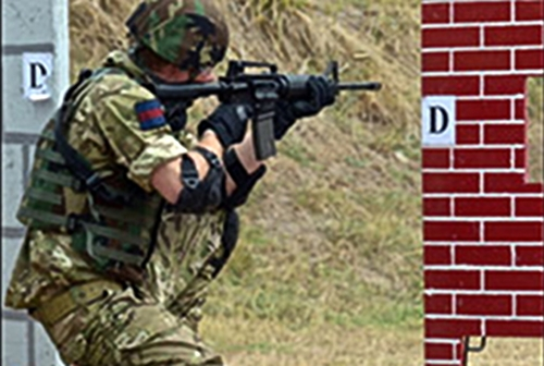 Prince Harry Participates In Military Exercises With Jamaica Defence Force