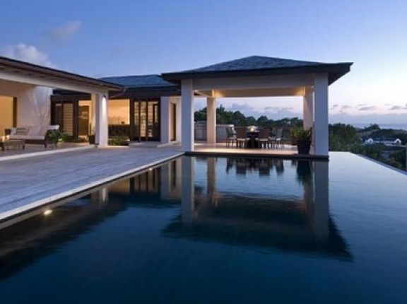 Modern Caribbean Architecture caribbean home: a modern villa with a view in barbados