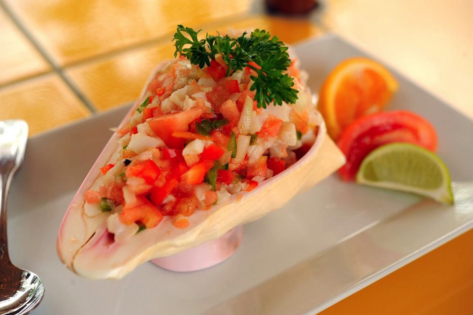 Where To Eat The Best Conch Salad In The Bahamas And Turks