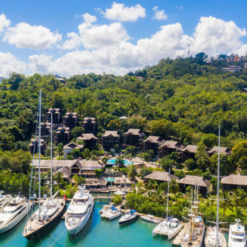 saint lucia marigot bay resort reopening